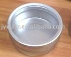25g aluminum tin jar with clear cap