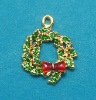 2012 New Design OEM Christmas ornament earrings/necklace