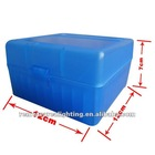 2012 newest Engineering PP (Polypropylene plastic) Handgun Ammo Boxes,Rifle ammo boxes / ammo can (TB908)