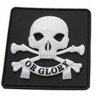 glow in dark pvc badge