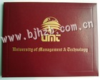 customised honor diploma certificate cover