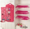 fabric pockets hanging jewelry organizer