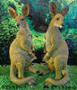 Real-size Kangaroo Statue with Joey in Pouch
