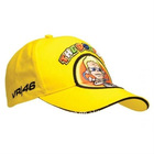 Official 2011 Valentino Rossi VR46 'The Doctor' Yellow F1 46 Rossi racing hat/ baseball cap /Golf Hats caps Yellow