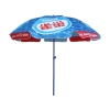 advertising parasol promotional aluminum pole sun umbrella for promotion