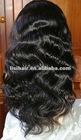 Body wavy brazilian front lace wig