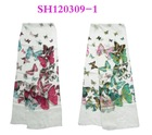 butterfly printed scarf for promotion