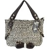 Leopard grain ashion pu women handbag B102005