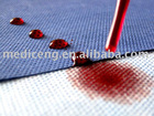 100% polypropylene SMS non woven fabric with anti-blood, anti-static properties