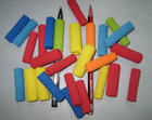 Colorful Fancy Soft Foam Pen Cover, Plastic Pen Cover, Rubber Pen Cover