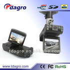 Tda-652 160 Degree HD wide-angle Auto HD Dual Lens car DVR