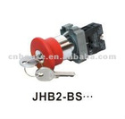 """Urgent stop"" of the lock button type switch JHB2-B series"