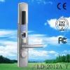 with sliding cover biometric fingerprint door lock