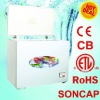 300L Chest Freezer with Lamp/Lock/Outside Condensor/Fan with UL SONCAP