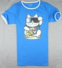 cartoon printed custom t shirt, any print is ok