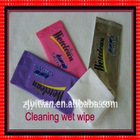 Alcohol Free Custom Wet Wipe
