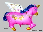 Foil Balloon Flying Horse shape balloon