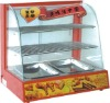 High quality food warming display cabinet