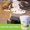 Acrylic 60 Cement Additive for Cement Based Mortar-to increase the flexiblity, waterproofing and adhesion of the mortars