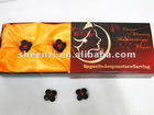 2012 flower shape Magnet acupuncture reducing fat earrings