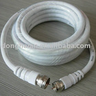 RG6 Coaxial cable with F plug