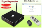 New Google Android 4.0 iptv hd box Language Option French