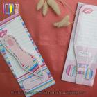 Novelty handmade binding shaped paper notepad glue holder