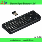 factory direct sale Wireless Mini 2.4G Keyboard Track ball Mouse Presenter