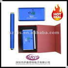 2012 IRIS new Power Bank Universal Portable Battery Powered Outlet for iphone4/4s 6000mah with gift box