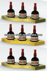 led wine bottles for display