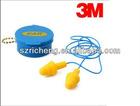 America original 3M Non-toxic Silicone material Security Earplugs in Plastic Box 340-4002
