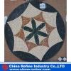 Natual marble mosaic pattern