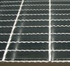 Optional serrated surface welded steel grating