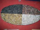 pebble stone door mat