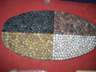 pebble stone door mat