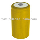 D Cylindrical Ni-Cd Rechargeable Battery