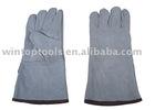 16 inch, cow split leather welding gloves