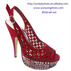 2012 fashion high heel platform sexy lady sandals