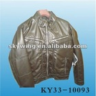 Wholesale - MENS PU Leather jacket -- S08 Winter/Fall