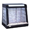 Curved Glass Warming Showcase