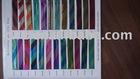 multi metallic bias colour card