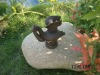 iron decor duck statue