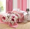 100% polyester raschel mink blankets manufacturerin china