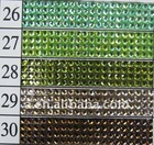 2013 new fashion resin drilling garment trims wholesale