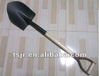 Types of wooden handle steel shovel