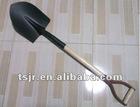 Types of wooden handle steel shovel