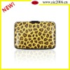 leopard printing for Aluminum credit card holder