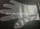 HDPE/LDPE disposable nonwoven gloves for daily,surgical and medical use