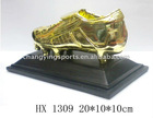 GOLD SHOES SOCCER RESIN TROPHY/HX1309