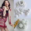 2012 ladies fashion ball scarf wholesale NUS01Y86